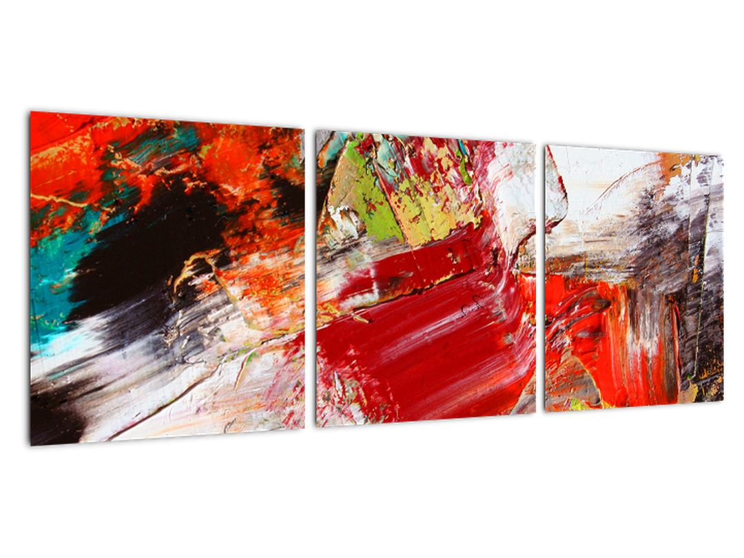 Barvna abstraktna slika