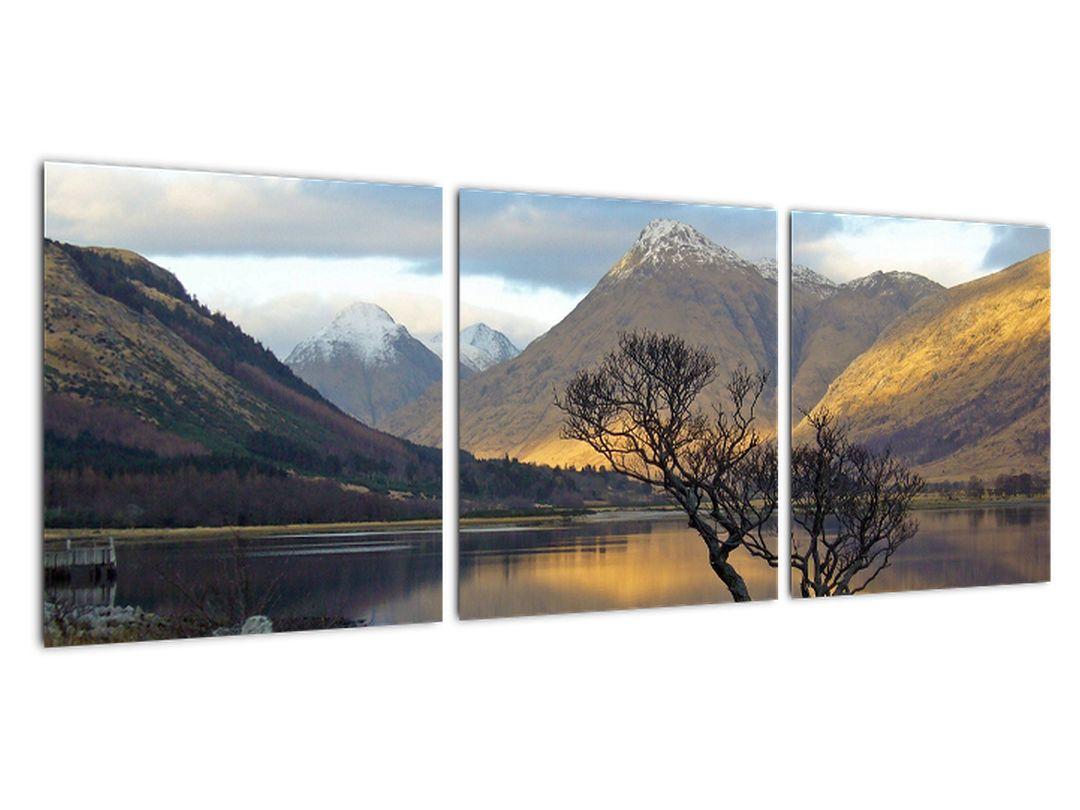 Slika - jezero med gorami