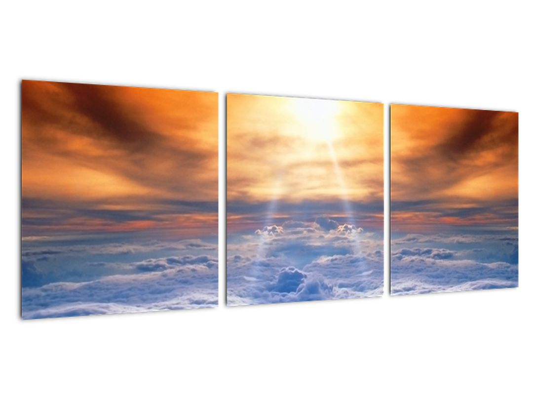 Moderne slike - sonce nad oblaki