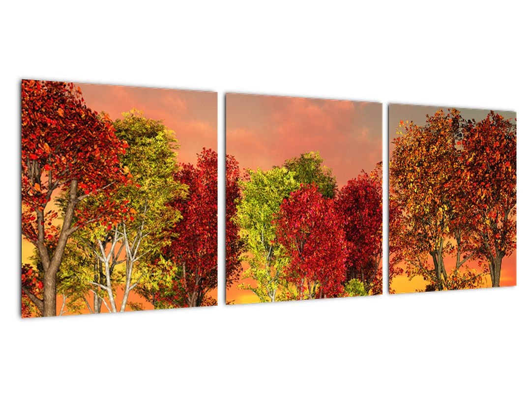 Moderna slika - pisana drevesa