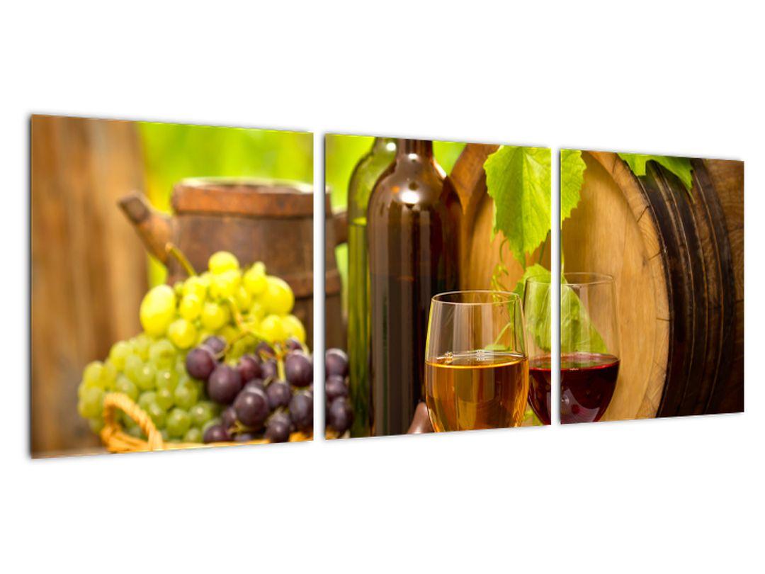 Slika za kuhinjo - vino