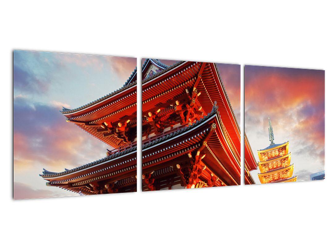 Slika - tempelj na Japonskem