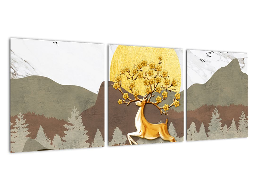 Abstraktna slika - drevo