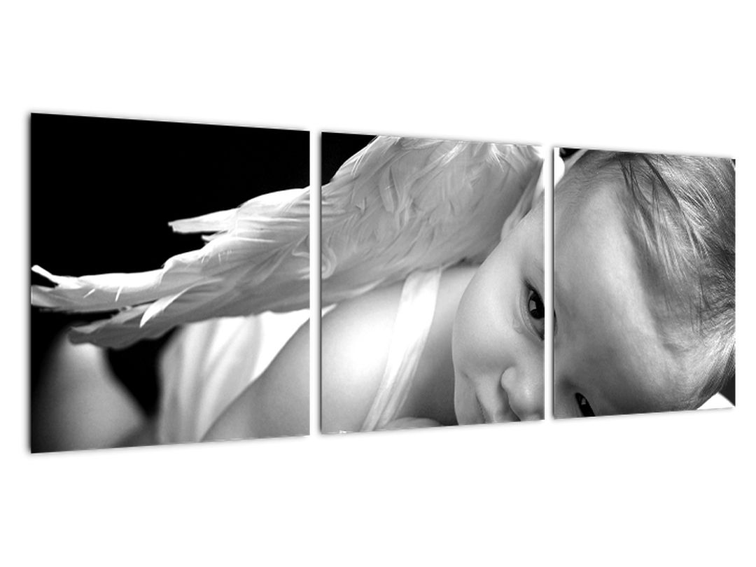Otrok - angel - slike na steni