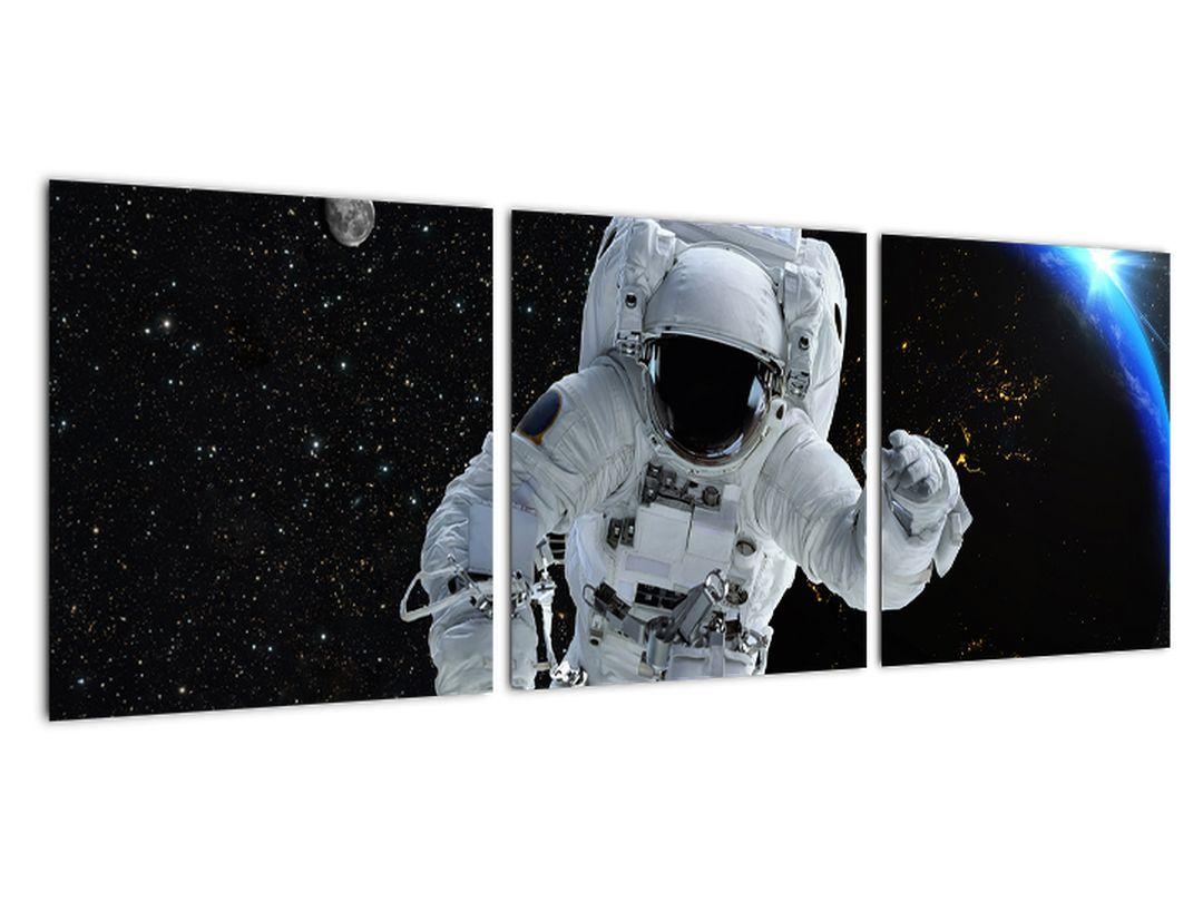 Slika - astronavt v vesolju