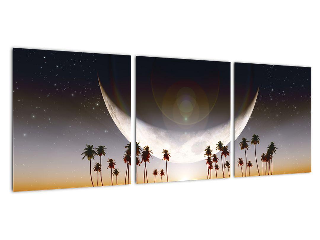 Slika - zahajajoča luna