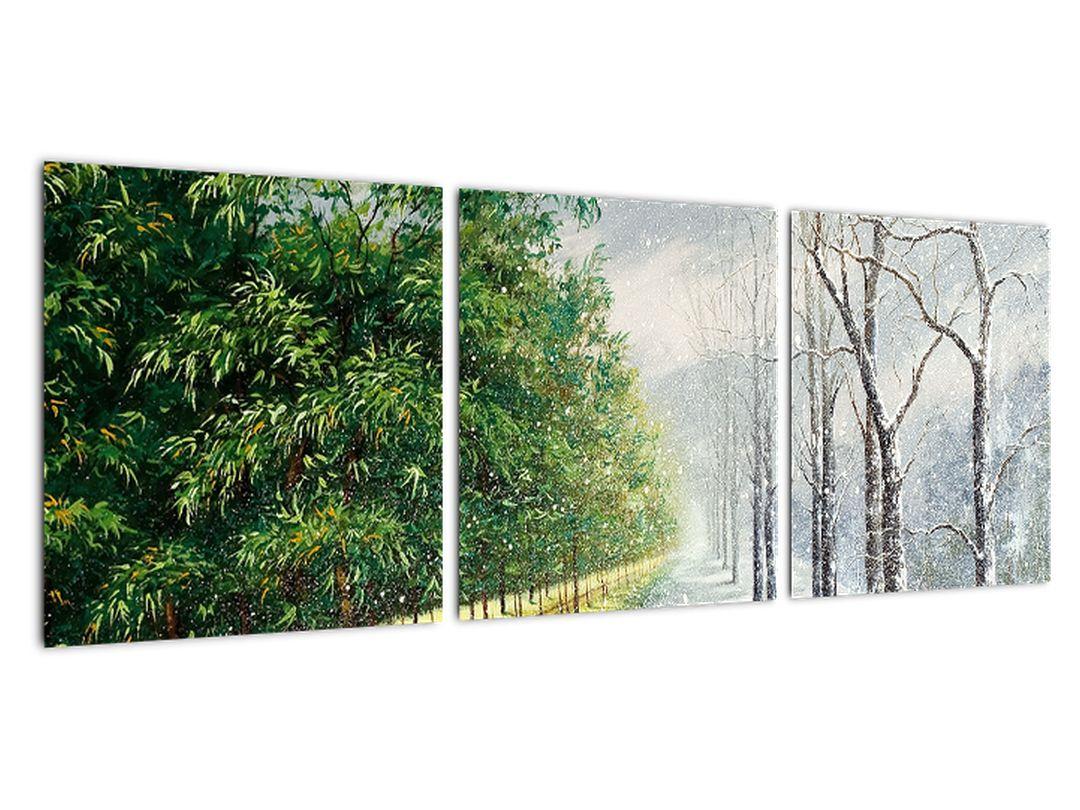 Slika - poletje in zima